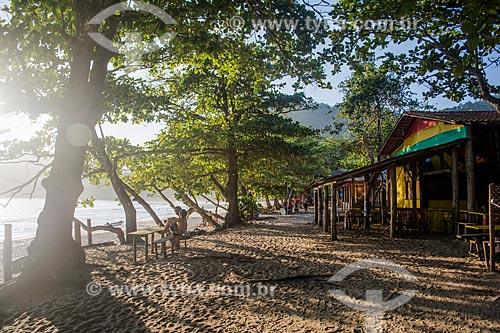Bar na Praia do Sono  - Paraty - Rio de Janeiro (RJ) - Brasil