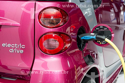 Veículos elétricos apresentados no Salão do Automóvel de Paris  - Paris - Paris - França