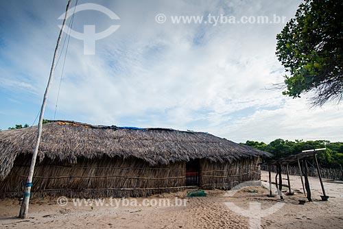 Casa da Vila de Queimada dos Britos no Parque Nacional dos Lençóis Maranhenses  - Santo Amaro do Maranhão - Maranhão (MA) - Brasil