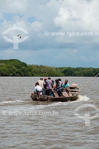 Pescadores no Rio Periá  - Humberto de Campos - Maranhão (MA) - Brasil