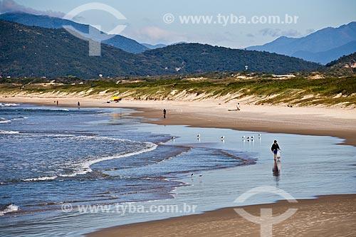 Orla da Praia da Joaquina  - Florianópolis - Santa Catarina (SC) - Brasil
