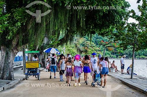 Bloco de Carnaval Pérola da Guanabara na Ilha de Paquetá  - Rio de Janeiro - Rio de Janeiro (RJ) - Brasil