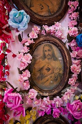 Imagem religiosa na Fundação Casa Grande  - Nova Olinda - Ceará (CE) - Brasil