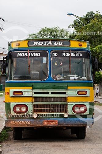 Ônibus antigo em Juazeiro do Norte  - Juazeiro do Norte - Ceará (CE) - Brasil