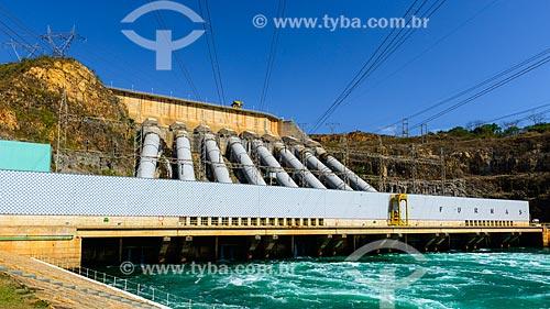 Casa de força da Usina Hidrelétrica de Furnas  - São José da Barra - Minas Gerais (MG) - Brasil