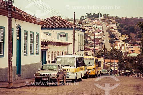 Vista dos casarios da cidade de Andrelândia  - Andrelândia - Minas Gerais (MG) - Brasil
