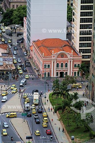 Vista geral do prédio da Sociedade Brasileira de Belas Artes  - Rio de Janeiro - Rio de Janeiro (RJ) - Brasil
