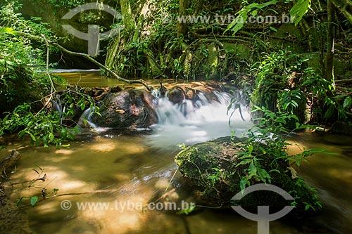 Poço da Caninana próximo ao Centro de Visitantes von Martius do Parque Nacional da Serra dos Órgãos  - Guapimirim - Rio de Janeiro (RJ) - Brasil