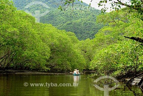 Passeio de barco no Rio Grande - Saco do Mamanguá  - Paraty - Rio de Janeiro (RJ) - Brasil