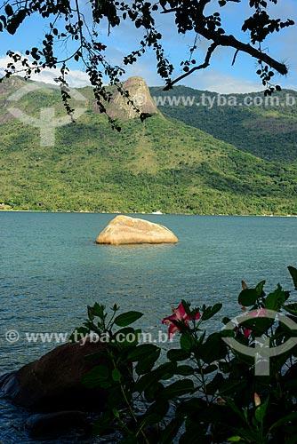 Saco do Mamanguá com Pico do Cairuçu (Pico do Pão de Açúcar) ao fundo  - Paraty - Rio de Janeiro (RJ) - Brasil