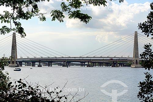 Vista da Ponte Prefeito Pereira Passos (2014) do BRT Transcarioca  - Rio de Janeiro - Rio de Janeiro (RJ) - Brasil