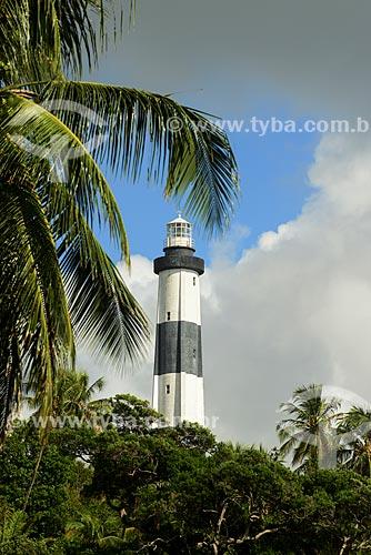 Farol da Praia de Porto de Pedras - Rota Ecológica de Alagoas  - Porto de Pedras - Alagoas (AL) - Brasil