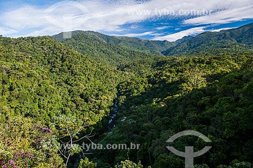 Vista do Mirante do Último Adeus no Parque Nacional de Itatiaia  - Itatiaia - Rio de Janeiro (RJ) - Brasil