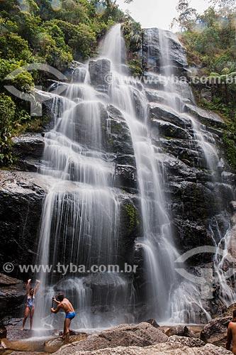 Cachoeira Véu da Noiva no Parque Nacional de Itatiaia  - Itatiaia - Rio de Janeiro (RJ) - Brasil