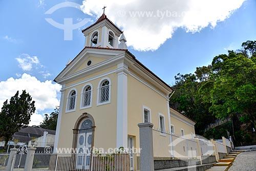 Fachada da capela de Santo Antônio (1884)  - Nova Friburgo - Rio de Janeiro (RJ) - Brasil