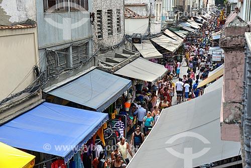 Comércio na Rua Senhor dos Passos - parte da SAARA (Sociedade de Amigos das Adjacências da Rua da Alfândega)  - Rio de Janeiro - Rio de Janeiro (RJ) - Brasil