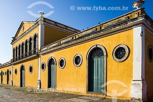 Fachada da Casa da Alfândega (1876) - antiga Alfândega - hoje abriga o Centro da Cultura Popular Catarinense  - Florianópolis - Santa Catarina (SC) - Brasil