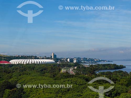 Vista geral do Estádio José Pinheiro Borda (1969)  - Porto Alegre - Rio Grande do Sul (RS) - Brasil