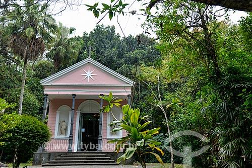 Fachada do Capela Mayrink (1855)  - Rio de Janeiro - Rio de Janeiro (RJ) - Brasil