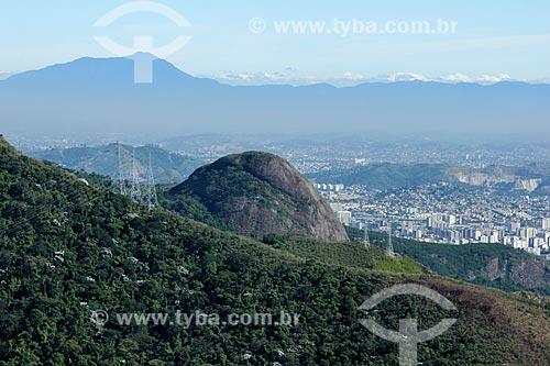 Torre de transmissão no Maciço da Tijuca  - Rio de Janeiro - Rio de Janeiro (RJ) - Brasil