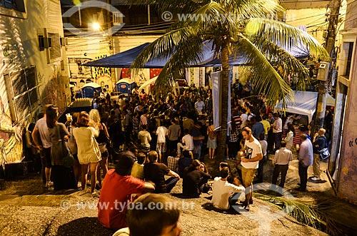 Roda de samba na Pedra do Sal - também conhecido como Largo João da Baiana  - Rio de Janeiro - Rio de Janeiro (RJ) - Brasil