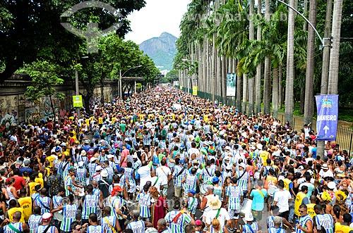 Desfile do bloco de carnaval de rua Suvaco do Cristo  - Rio de Janeiro - Rio de Janeiro (RJ) - Brasil