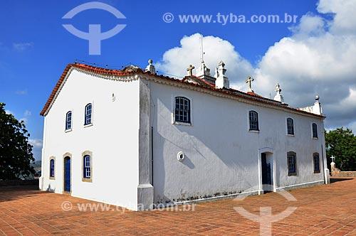 Fachada lateral da Igreja de Nossa Senhora da Penna (Século XVIII)  - Rio de Janeiro - Rio de Janeiro (RJ) - Brasil