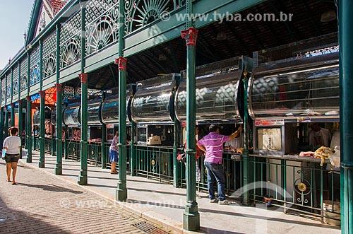 Mercado Municipal de Carne Francisco Bolonha (1857)  - Belém - Pará (PA) - Brasil