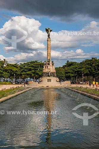 Monumento aos Heróis da Batalha de Laguna e Dourados na Praça General Tibúrcio  - Rio de Janeiro - Rio de Janeiro (RJ) - Brasil