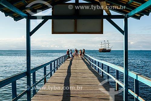 Píer da Praia de Canasvieiras  - Florianópolis - Santa Catarina (SC) - Brasil