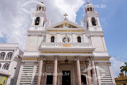Fachada da Basílica de Nossa Senhora de Nazaré  - Belém - Pará (PA) - Brasil