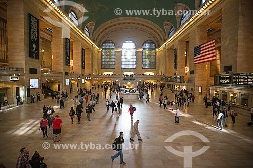 Interior da Grand Central Terminal (1903)  - Cidade de Nova Iorque - Nova Iorque - Estados Unidos