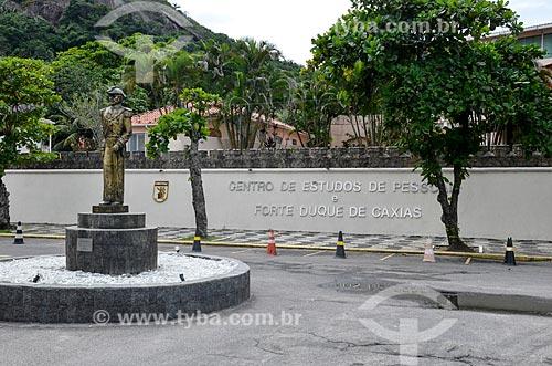 Fachada do Centro de Estudos de Pessoal e Forte Duque de Caxias (CEP/FDC)  - Rio de Janeiro - Rio de Janeiro (RJ) - Brasil