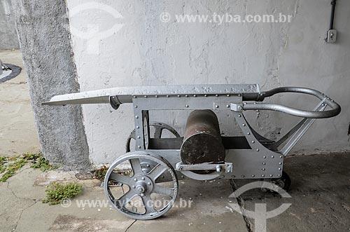 Carrinho para munição no Forte Duque de Caxias - também conhecido como Forte do Leme  - Rio de Janeiro - Rio de Janeiro (RJ) - Brasil