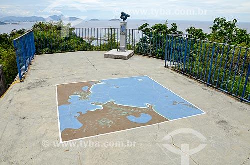 Mirante do Forte Duque de Caxias - também conhecido como Forte do Leme  - Rio de Janeiro - Rio de Janeiro (RJ) - Brasil