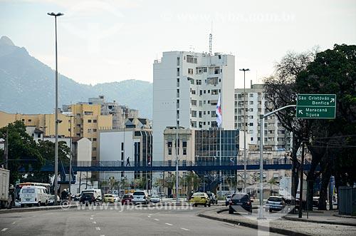 Tráfego na Avenida Osvaldo Aranha  - Rio de Janeiro - Rio de Janeiro (RJ) - Brasil