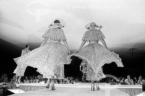 Passarela de desfile de moda francesa  - Rio de Janeiro - Rio de Janeiro (RJ) - Brasil