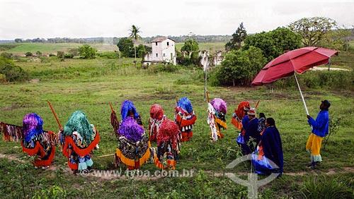 Grupo de Maracatu Rural - também conhecido como Maracatu de Baque Solto  - Goiana - Pernambuco (PE) - Brasil