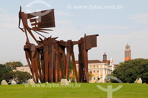 Monumento aos Açorianos (1974)  - Porto Alegre - Rio Grande do Sul (RS) - Brasil