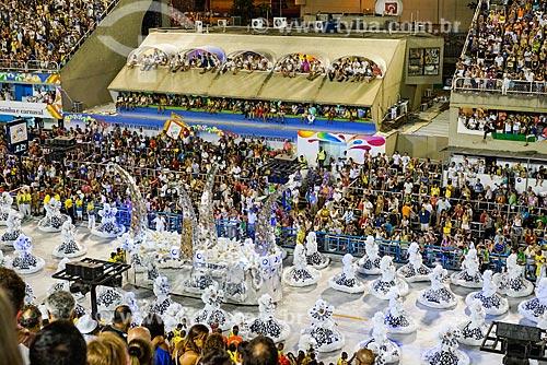 Desfile do Grêmio Recreativo Escola de Samba Unidos da Tijuca - Ala das Baianas - Enredo 2015 - Um conto marcado no tempo: o olhar suíço de Clóvis Bornay  - Rio de Janeiro - Rio de Janeiro (RJ) - Brasil