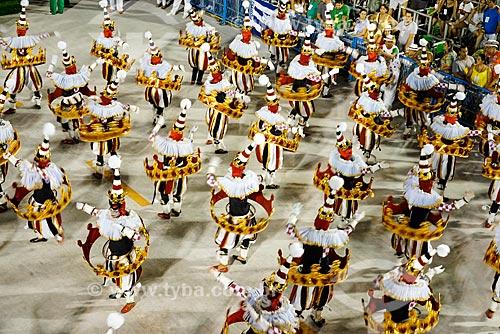 Desfile do Grêmio Recreativo Escola de Samba Acadêmicos do Grande Rio - Foliões - Enredo 2015 - A Grande Rio é do baralho  - Rio de Janeiro - Rio de Janeiro (RJ) - Brasil