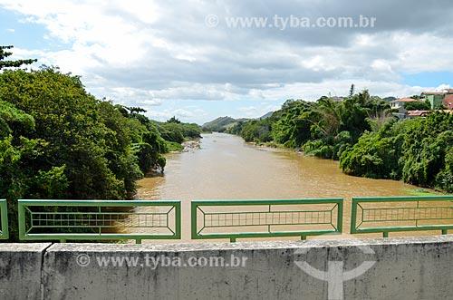 Ponte sobre o Rio Paraíba do Sul  - Paraíba do Sul - Rio de Janeiro (RJ) - Brasil