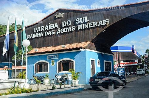 Pórtico da cidade de Paraíba do Sul  - Paraíba do Sul - Rio de Janeiro (RJ) - Brasil