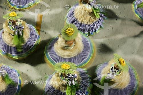 Desfile do Grêmio Recreativo Escola de Samba Caprichosos de Pilares - Ala das Baianas - Enredo 2015 - Na minha mão é mais barato  - Rio de Janeiro - Rio de Janeiro (RJ) - Brasil