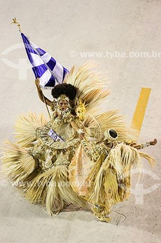 Desfile do Grêmio Recreativo Escola de Samba Beija-Flor de Nilópolis - Casal de Mestre-sala e Porta-Bandeira - Enredo 2015 - Um griô conta a história: Um olhar sobre a África e o despontar da Guiné Equatorial. Caminhemos sobre a trilha de nossa felicidade  - Rio de Janeiro - Rio de Janeiro (RJ) - Brasil