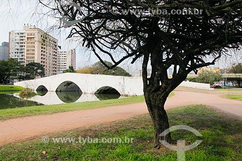 Ponte de Pedra (1843) - também conhecida como Ponte dos Açores  - Porto Alegre - Rio Grande do Sul (RS) - Brasil