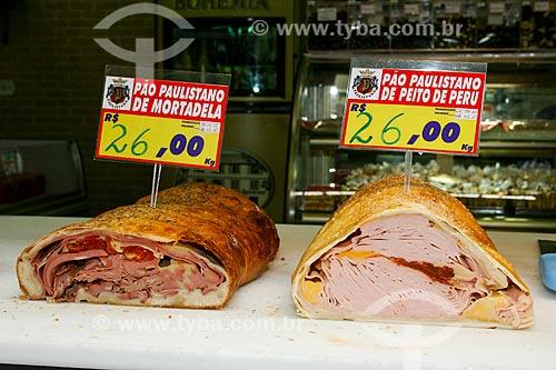 Sanduíches à venda no Mercado Municipal  - São Paulo - São Paulo (SP) - Brasil