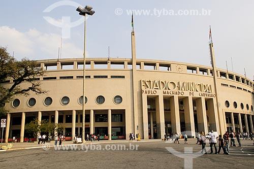 Vista do Estádio Pacaembu - Estádio Municipal Paulo Machado de Carvalho  - São Paulo - São Paulo (SP) - Brasil