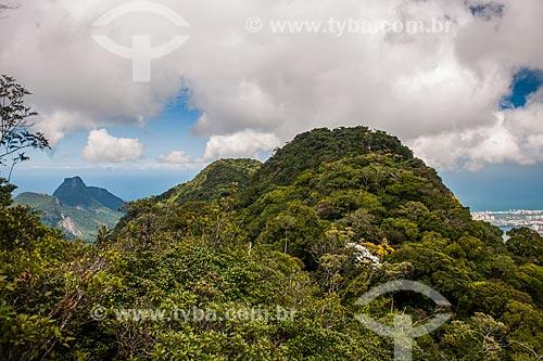 Vista do Morro da Cocanha a partir do Mirante da Serrilha do Papagaio  - Rio de Janeiro - Rio de Janeiro (RJ) - Brasil