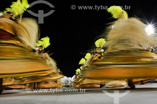 Desfile do Grêmio Recreativo Escola de Samba São Clemente - Ala das Baianas - Enredo 2015 - A incrível história do homem que só tinha medo da Matinta Perera, da Tocandira e da Onça Pé de Boi  - Rio de Janeiro - Rio de Janeiro (RJ) - Brasil
